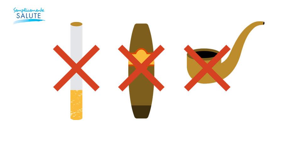 anche pipa e sigaro vanno eliminati