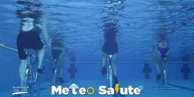 Belle giornate tanta ginnastica acquatica