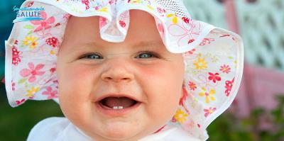 Che denti quel neonato