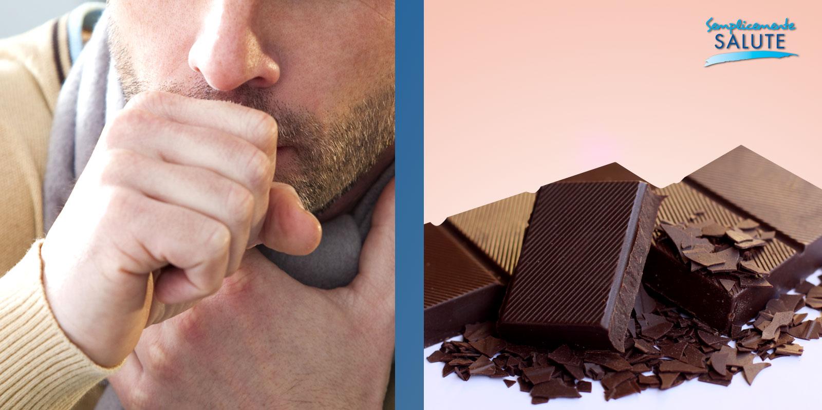 Contro la tosse basta un quadretto di cioccolato