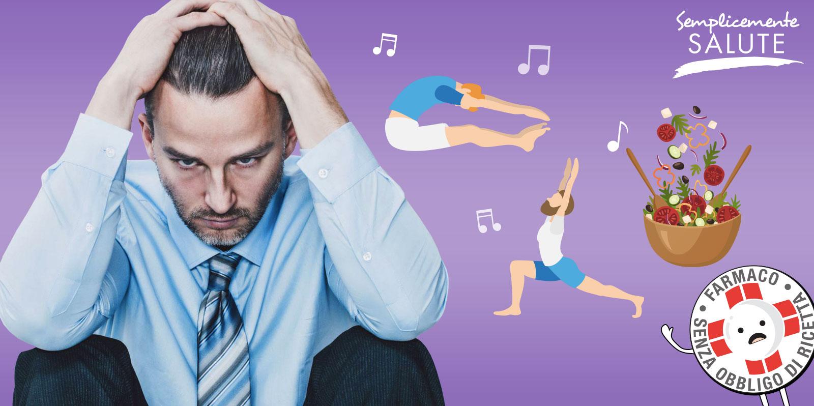 Contro lo stress da rientro movimento e alimentazione giusta