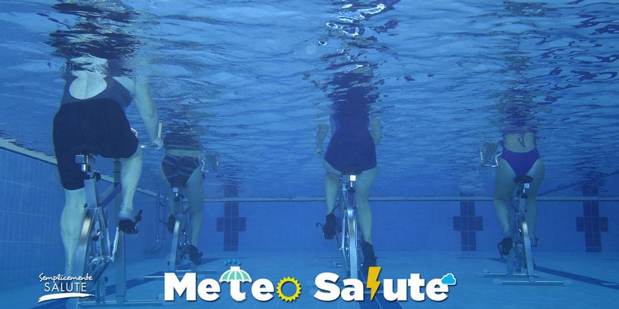 ginnastica acquatica