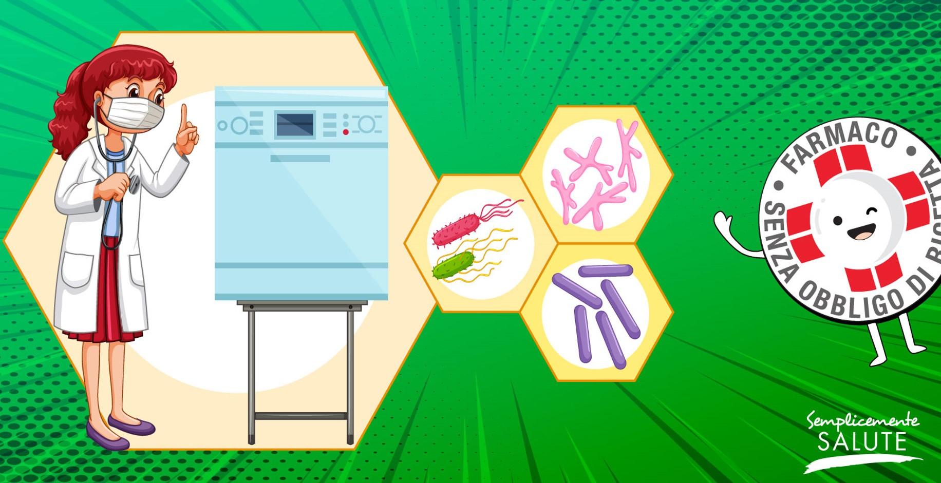 I rari casi di micosi da lavastoviglie