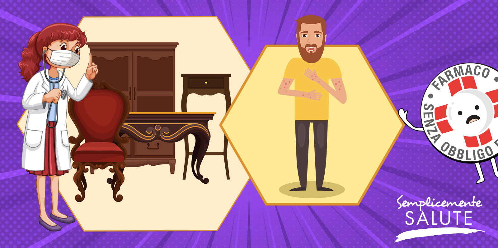 Il prurito puo nascere dai mobili antichi