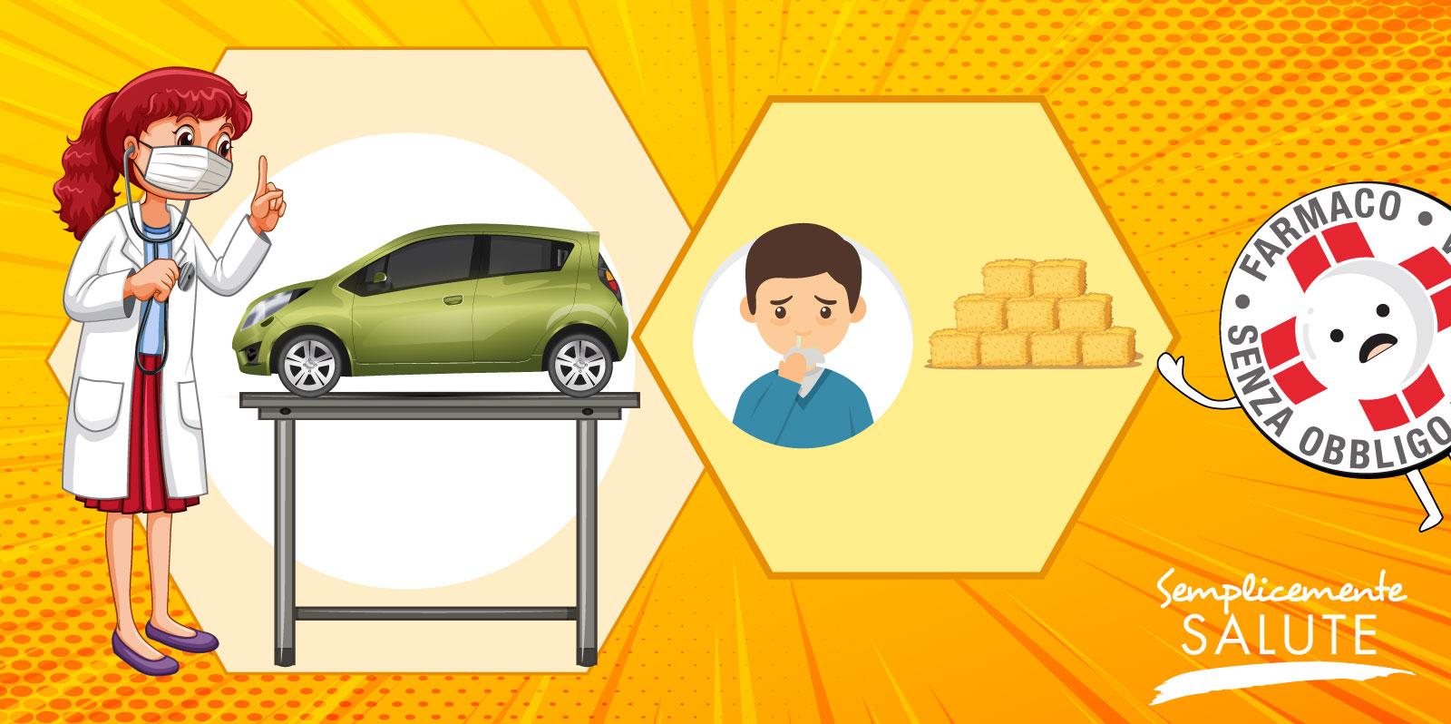 In caso di raffreddore da fieno occhio al condizionatore auto