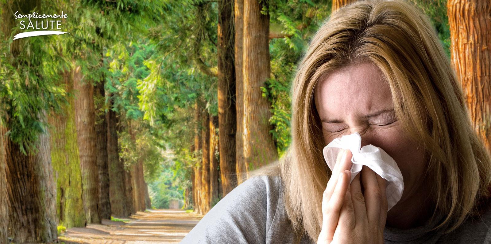 Irritazione al naso puo nascere anche nel verde