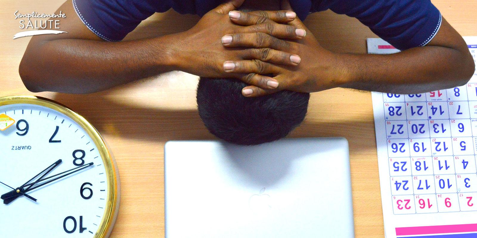 Lo stress preventivo del mattino pesa piu di quello serale