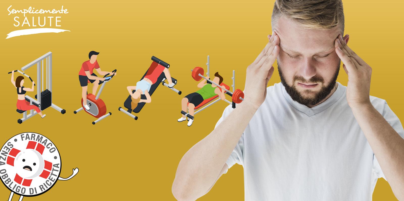 Mal di testa Se riuscite fate movimento