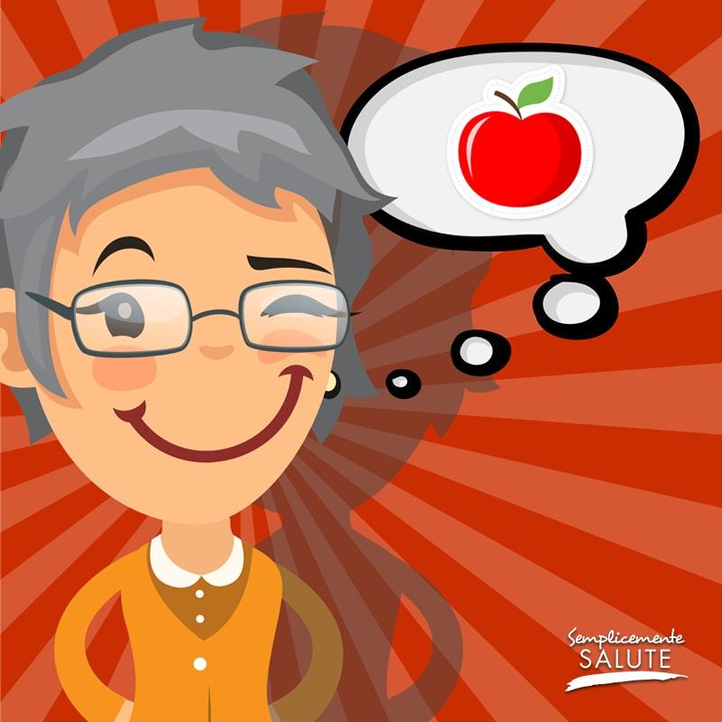 per Denti in salute mangia una mela