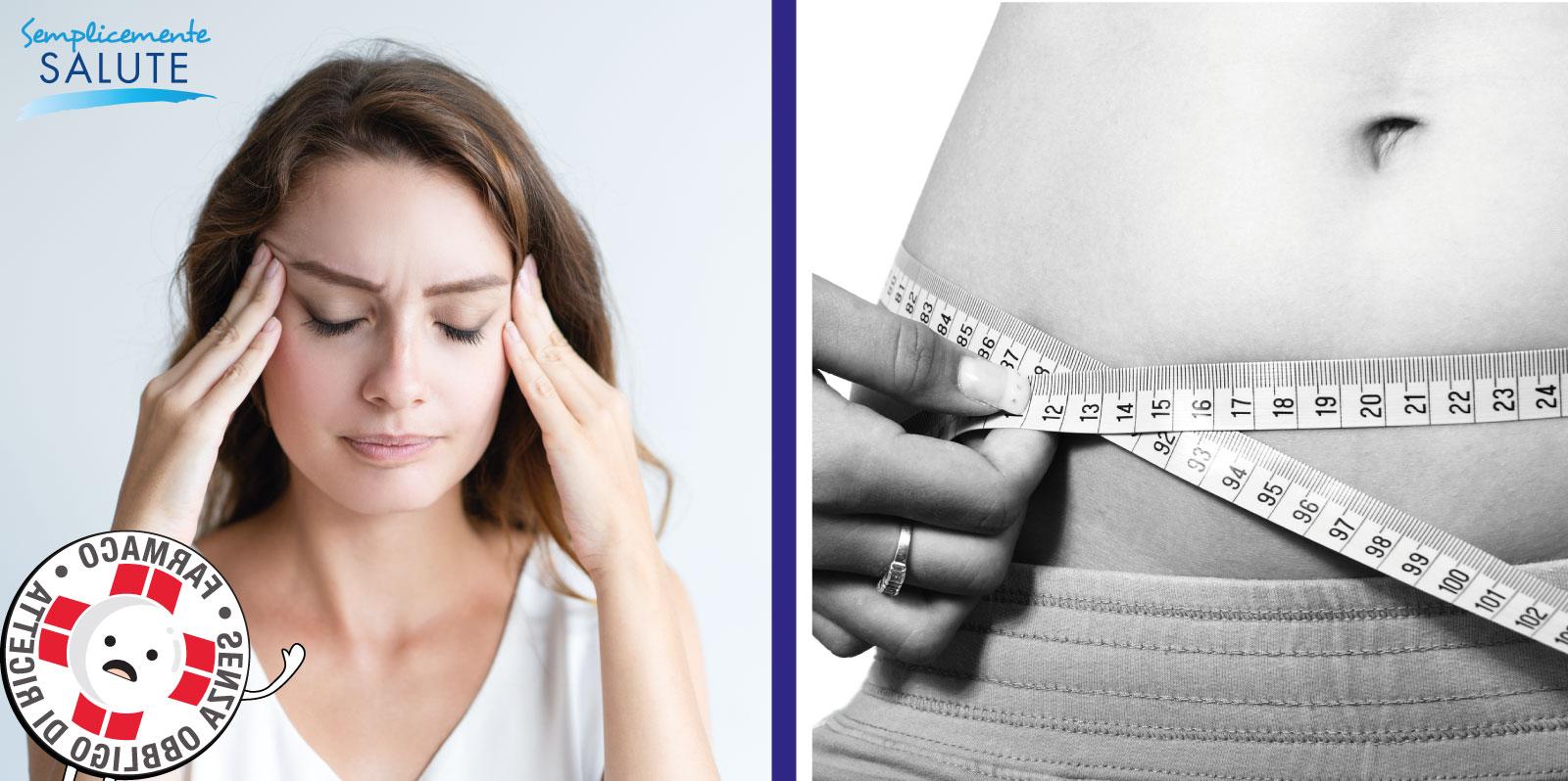 donna stressata misura girovita