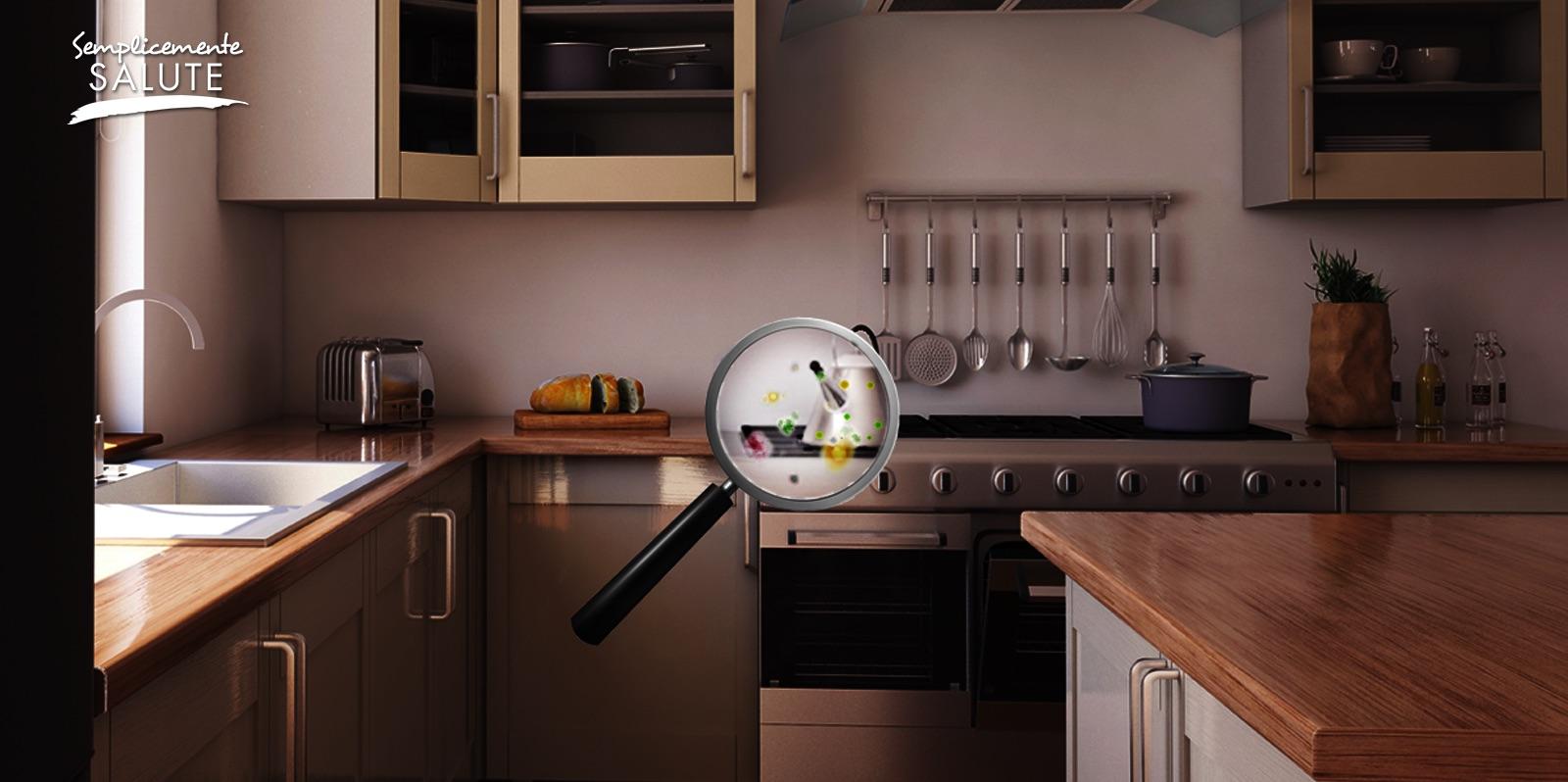 Quanti pericoli invisibili in cucina