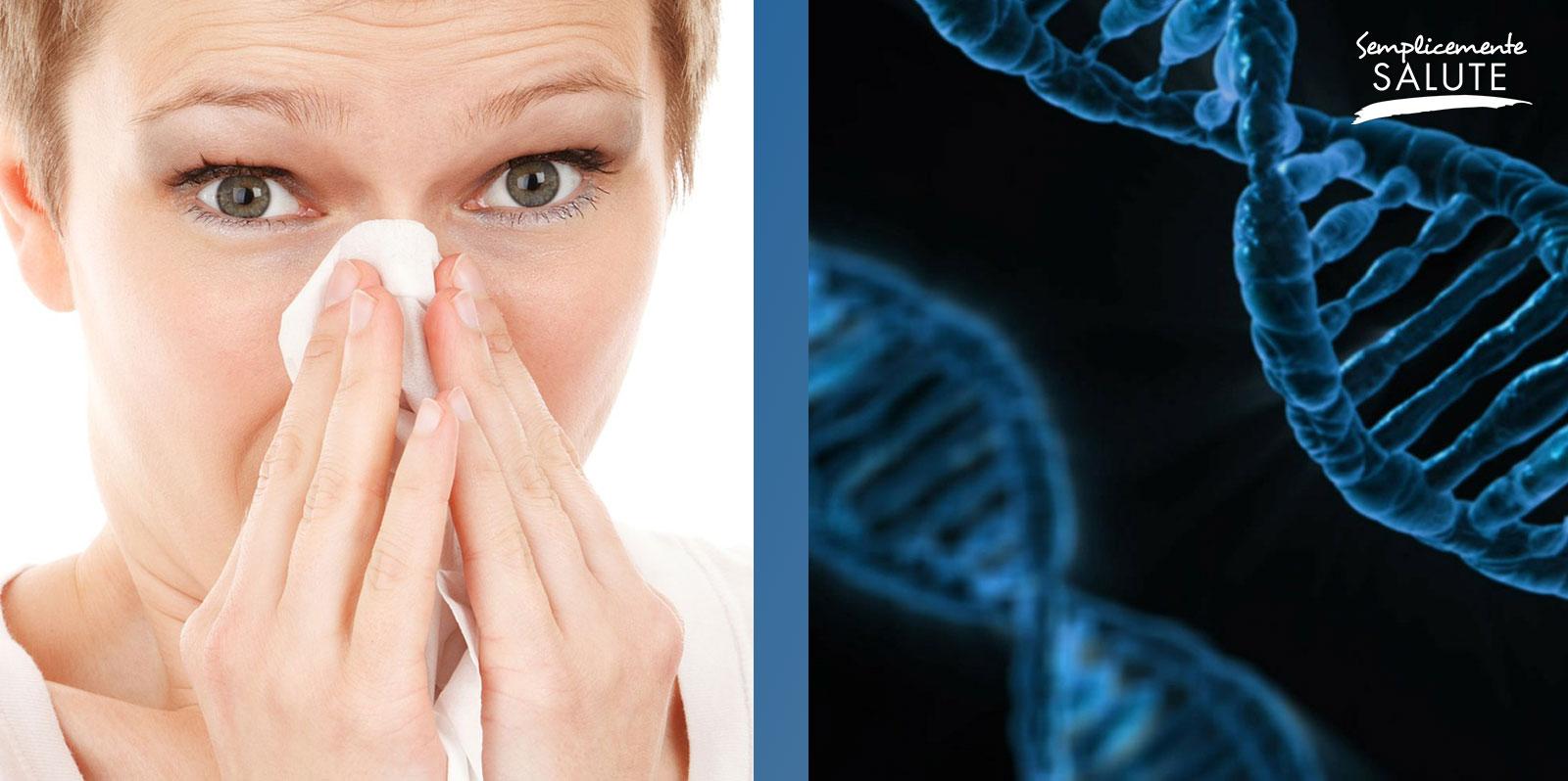 Rinite allergica COLPA dei geni o dell ambiente