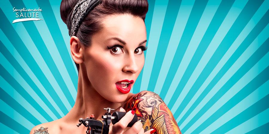 se fate un tatuaggio attenti alla pelle