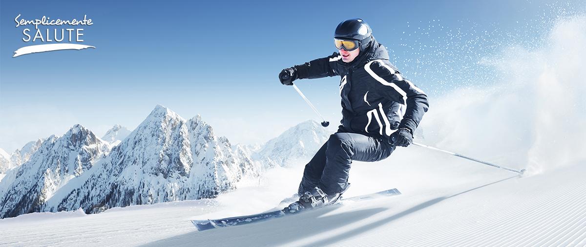 Sulla neve, proteggete gli occhi